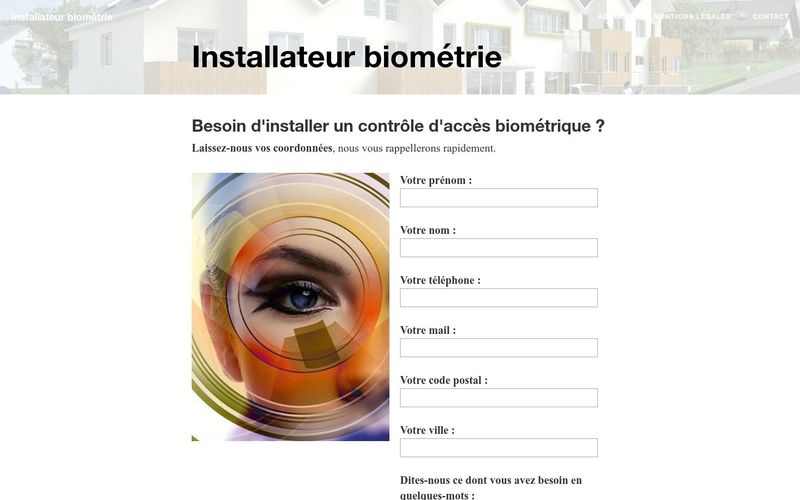 Trouver un installateur de contrôles d'accès par biométrie